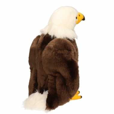 Amerikaanse zeearend roofvogel knuffel 30 cm
