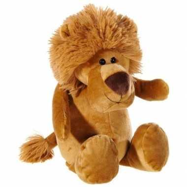 Bruine pluche leeuwen knuffel 33 cm