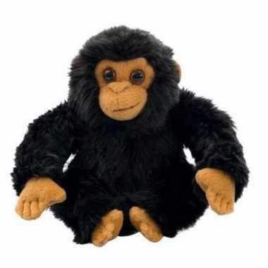 Chimpansee knuffeltje 18 cm