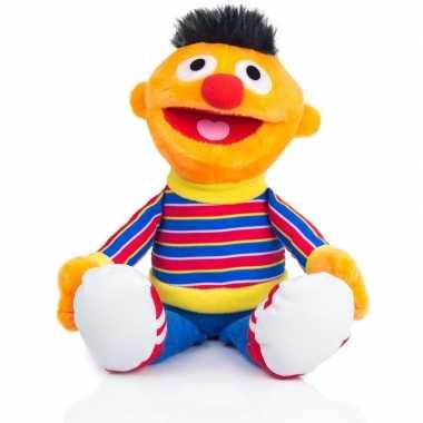 Ernie sesamstraat pluche knuffel 25 cm