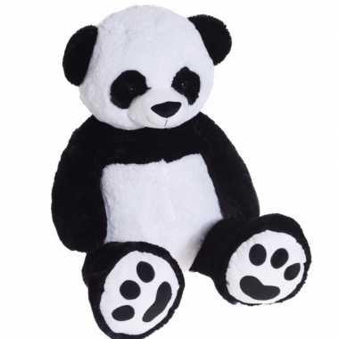 Extra grote pluche knuffel panda knuffebeest van 100 cm