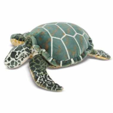Grote knuffel schildpad 81 cm