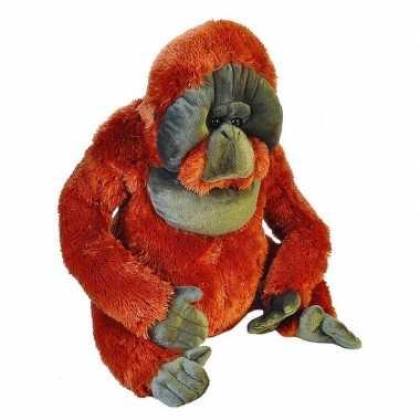Grote pluche aap orang oetan knuffel 55 cm