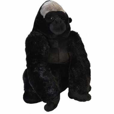 Grote pluche gorilla knuffel 58 cm