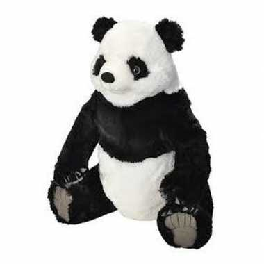 Grote pluche panda knuffel 70 cm