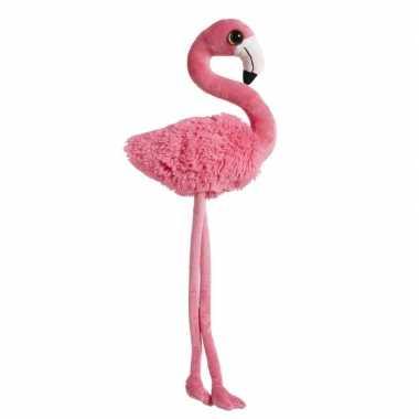 Grote roze pluche flamingo knuffel 65 cm