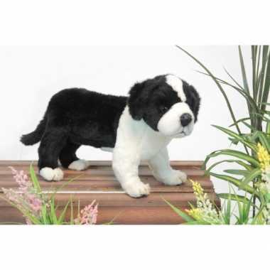 Hansa pluche border collie pup knuffel 39 cm