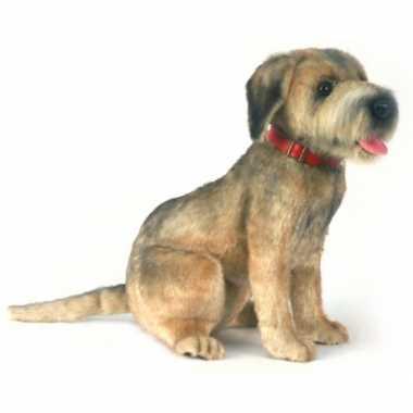 Hansa pluche border terrier hond knuffel 44 cm