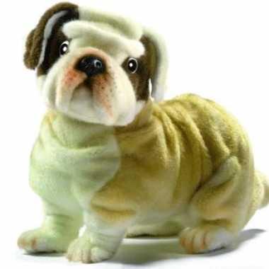 Hansa pluche bulldog knuffel 30 cm