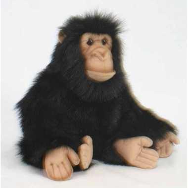 Hansa pluche chimpansee knuffel 25 cm