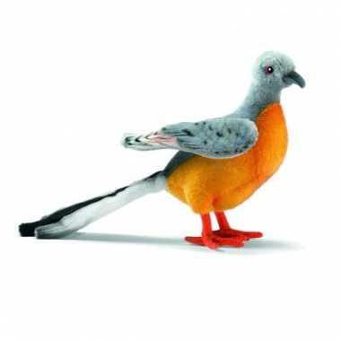 Hansa pluche duif knuffel 20 cm