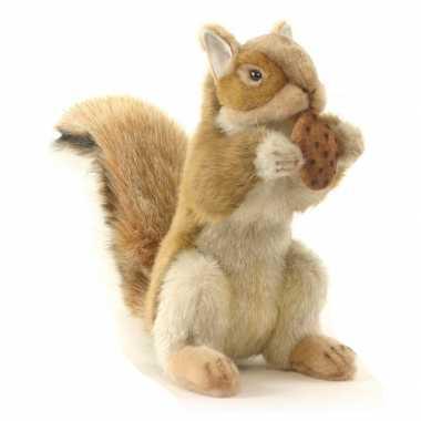 Hansa pluche eekhoorn knuffel 22 cm