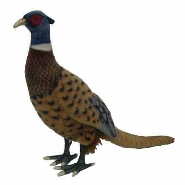 Hansa pluche fazant knuffel 40 cm