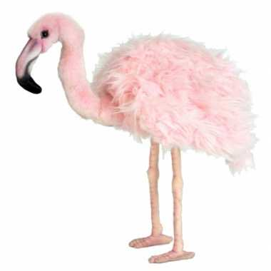 Hansa pluche flamingo knuffel 38 cm