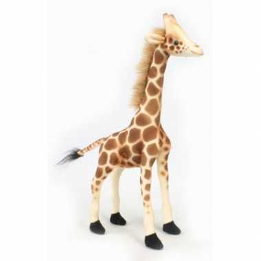 Hansa pluche giraffe knuffel 27 cm