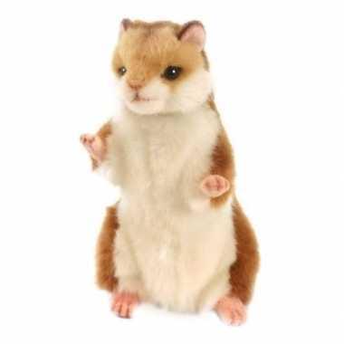 Hansa pluche hamster knuffel 15 cm