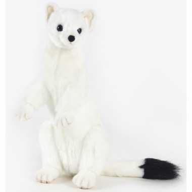 Hansa pluche hermelijn knuffel 30 cm