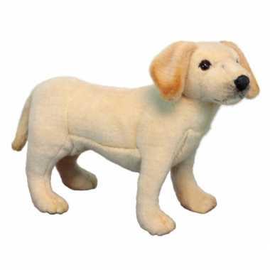 Hansa pluche labrador pup knuffel 35 cm