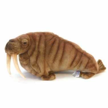 Hansa pluche walrus knuffel 38 cm
