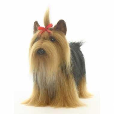 Hansa pluche yorkshire terrier knuffel 38 cm