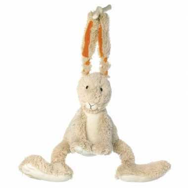 Happy horse pluche konijn muziekknuffel 26 cm knuffel