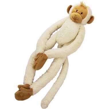 Happy horse pluche witte slinger aap knuffel 23 cm