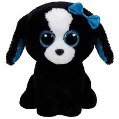 Hond/puppy ty beanie knuffel tracey 24 cm