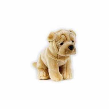 Honden knuffel shar pei 20 cm