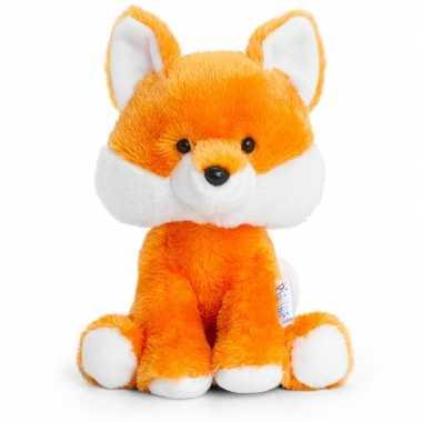 Keel toys bruine pluche vos knuffel 14 cm