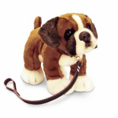 Keel toys pluche boxer knuffel aan lijn 25 cm