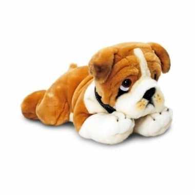 Keel toys pluche bulldog knuffel 90 cm