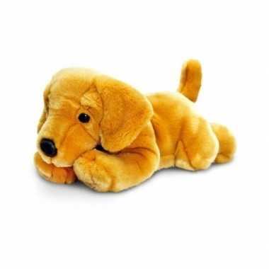 Keel toys pluche labrador pup knuffel 35 cm