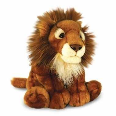 Keel toys pluche leeuw knuffel 40 cm speelgoed