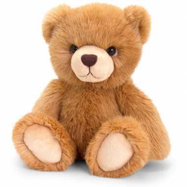 Keel toys pluche roodbruine beren knuffel 35 cm