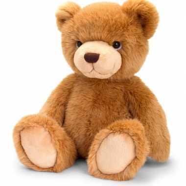 Keel toys pluche roodbruine beren knuffel 45 cm
