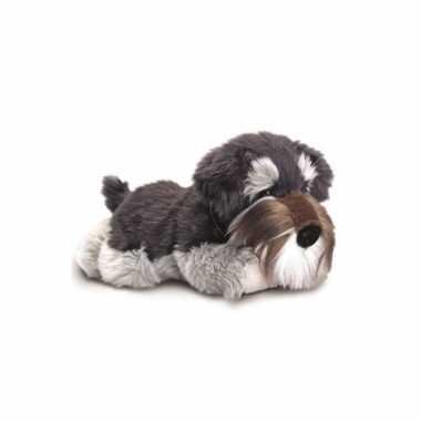 Keel toys pluche schnauzer hond knuffel 35 cm