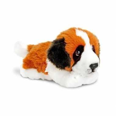 Keel toys pluche sint bernard hond knuffel 35 cm