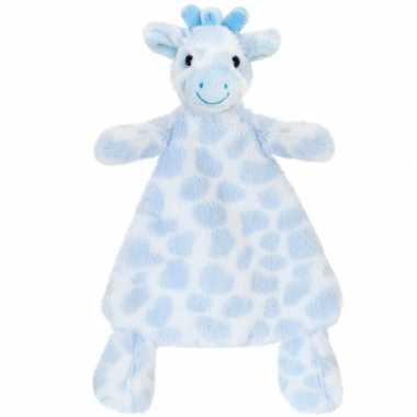 d3b8a9684f63c3 Keel toys pluche tuttel blauwe giraffe knuffeldoekje 25 cm | Knuffel ...