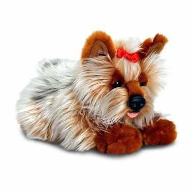 Keel toys pluche yorkie hond knuffel 30 cm