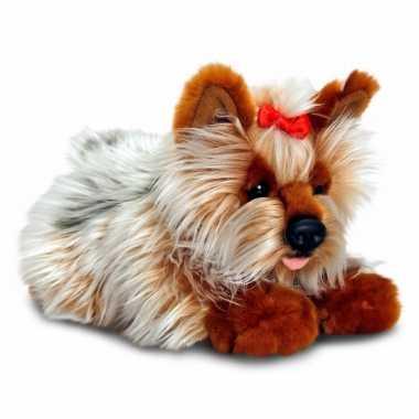 Keel toys pluche yorkie hond knuffel 35 cm
