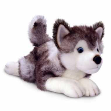 Knuffel husky hondje van 48 cm