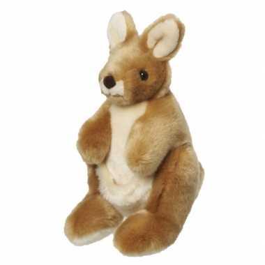 Knuffel kangoeroe 26 cm