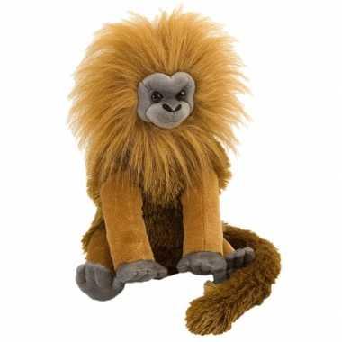 Knuffel leeuwen aapje 30 cm