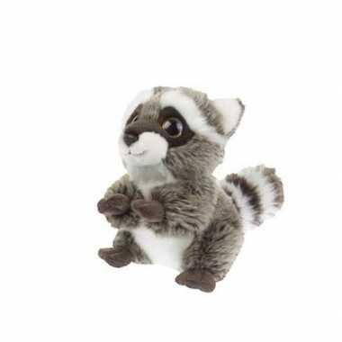 Knuffel wasbeer 18 cm