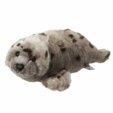 Knuffel zeehond met stippen 40 cm
