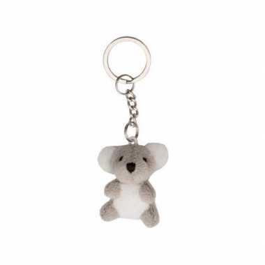Koala knuffel sleutelhangers 6 cm