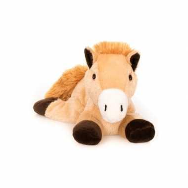 fe4a43145dcc2b Magnetron warmte knuffel bruin paard 18 cm | Knuffel.info
