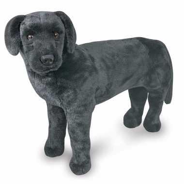 Mega knuffel hond zwarte labrador
