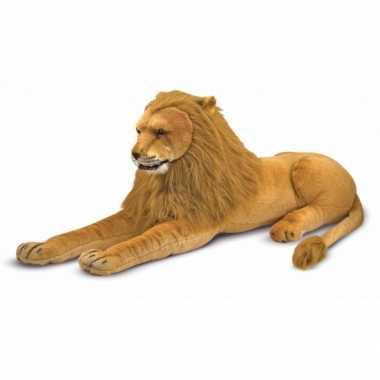 Mega leeuw knuffel 110 cm