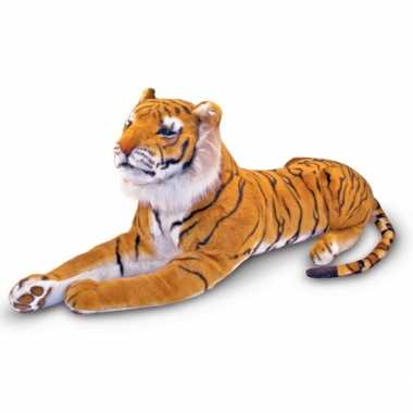 Mega tijger knuffel 100 cm